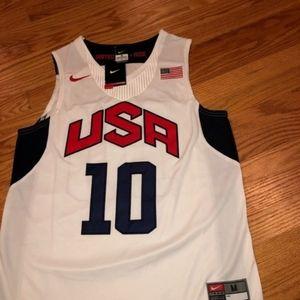 NWT Kobe Bryant Lakers Team USA NBA Jersey Medium